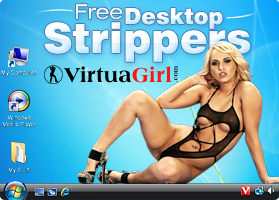 DesktopBabes, desktop dancer download Virtual Girl HD